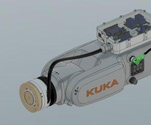 用于小型工业机器人的开源工具更换器