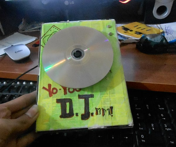 (diy)  DJ Scratch-er