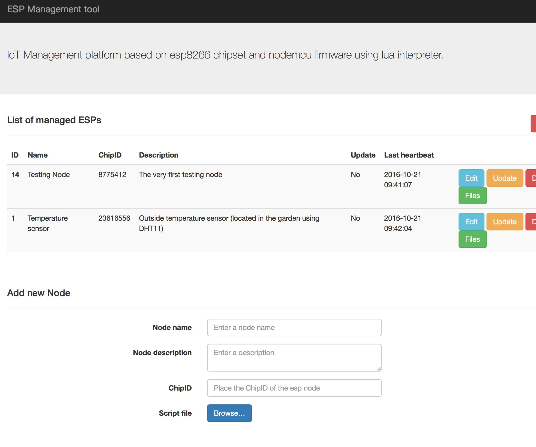 ESP8266 OTA LUA with WEB UI MANAGEMENT / Nodemcu firmware