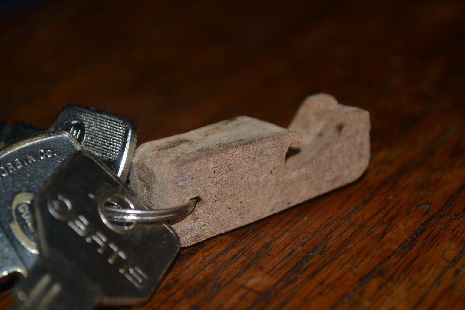 Wooden Keychain Bottle Opener