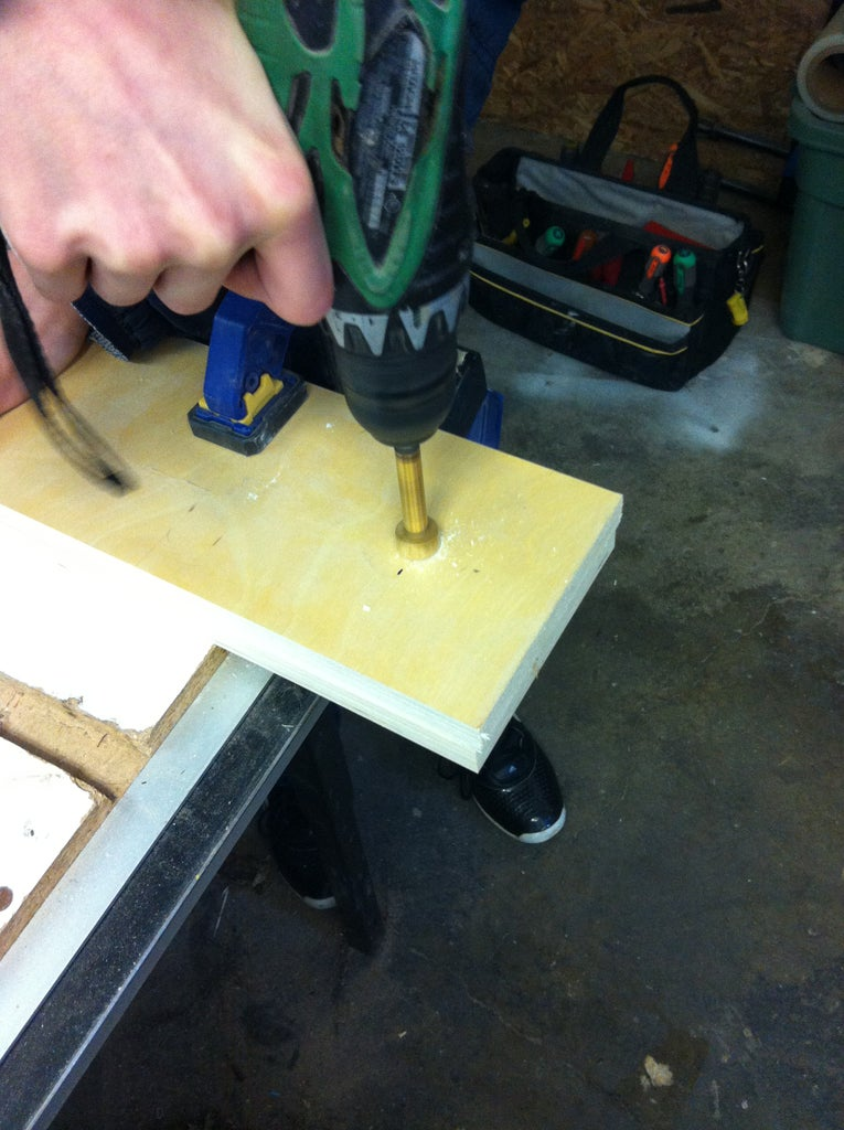 Cutting Holes for Dowel Rod