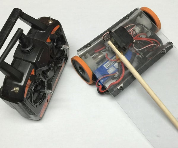 Simple RC Wedge Robot