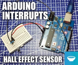 Arduino Hall Effect Sensor With Interrupts