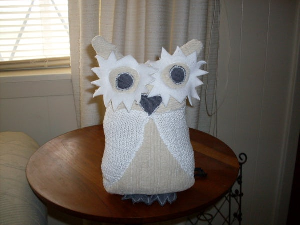 Easy Owl (From Recycled Sweaters)