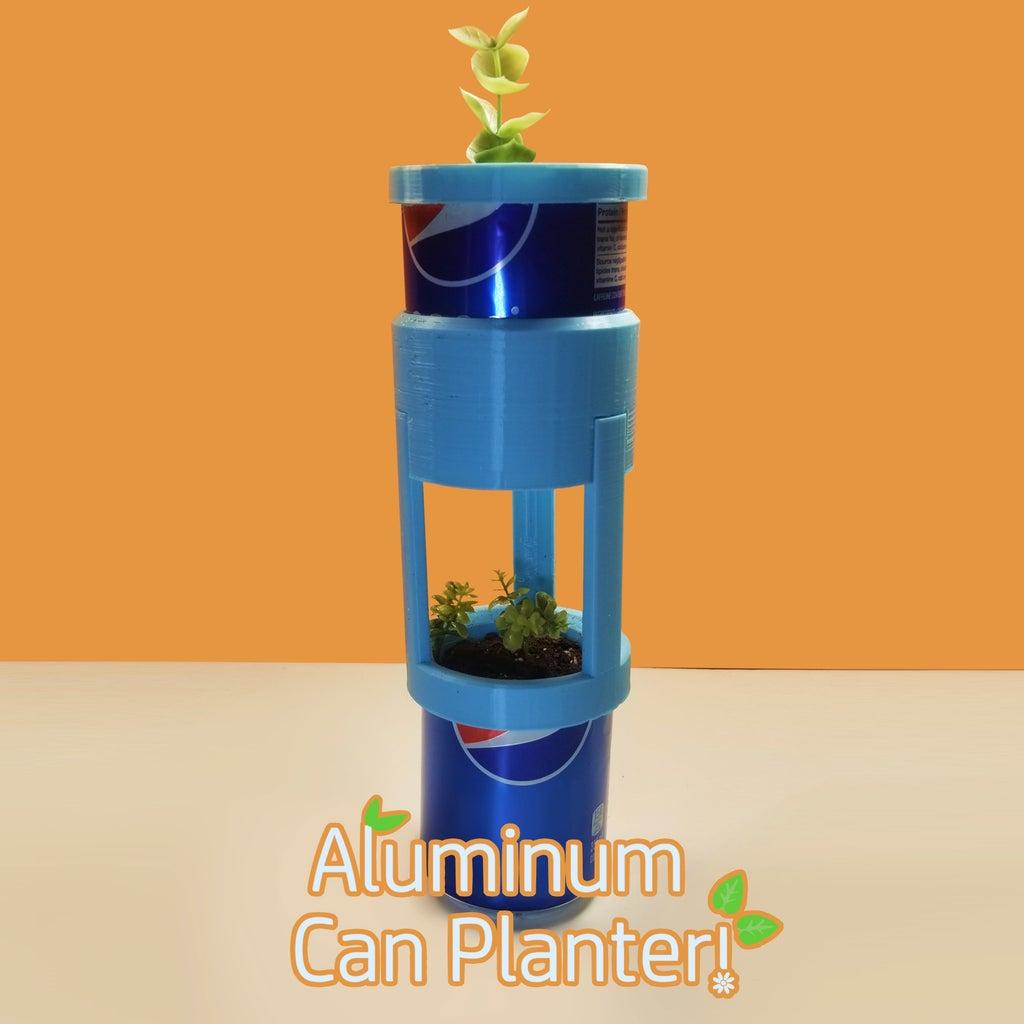 Aluminum Can Planter