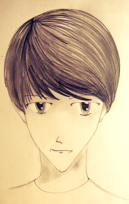 How To Draw A Manga Boy (Face)