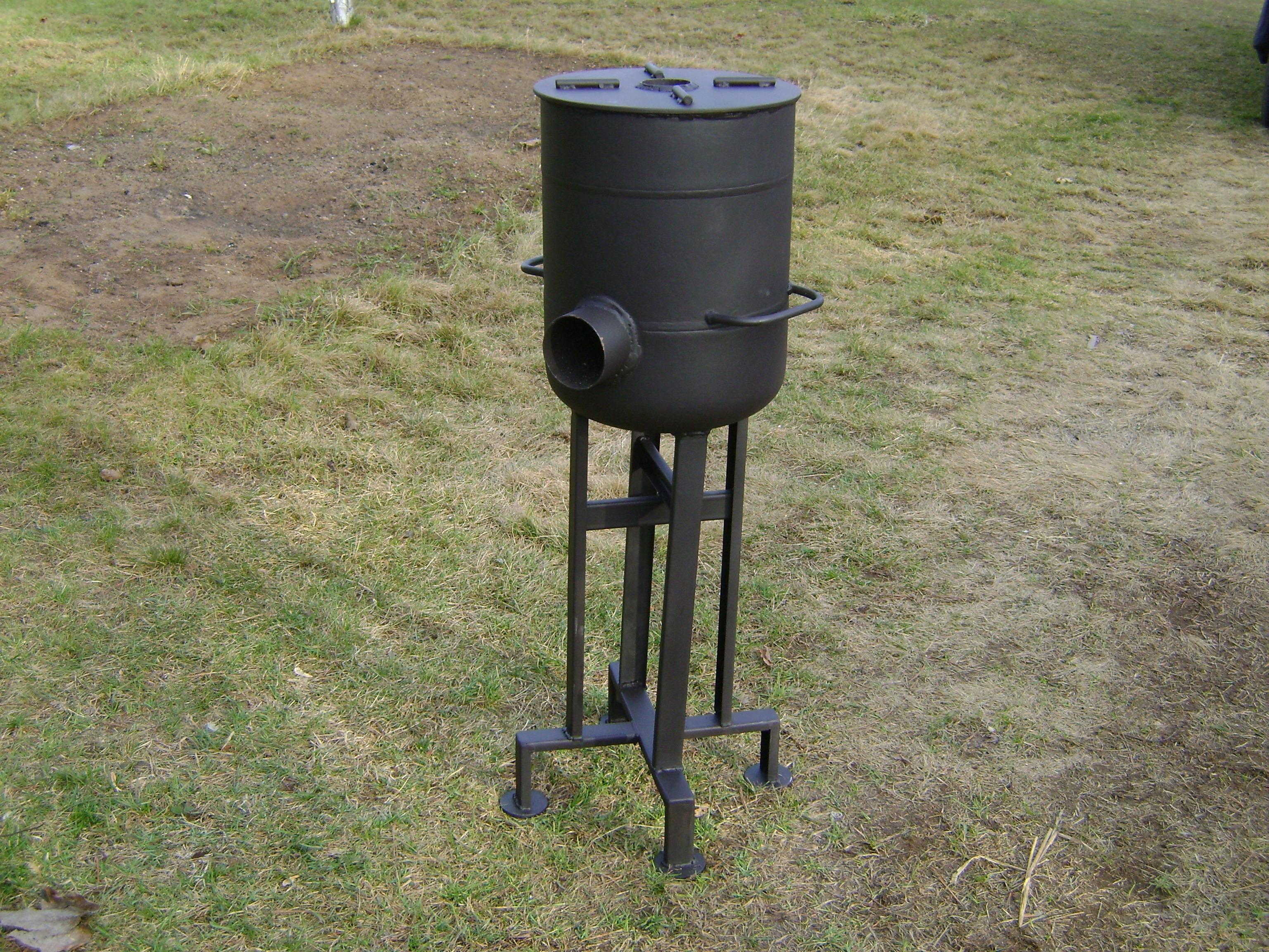 Fabricating a Heavy-Duty Rocket Stove