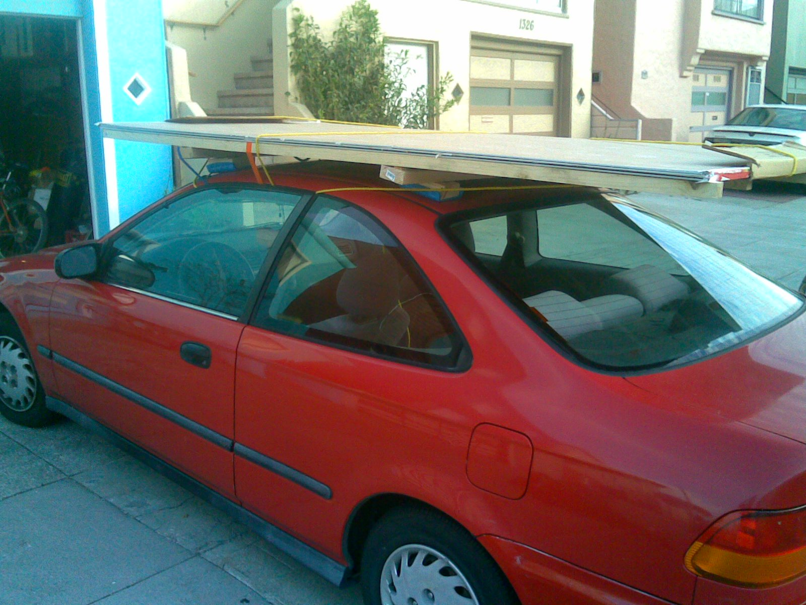 Drywall and Plywood Cartop Carrier / Roof Rack