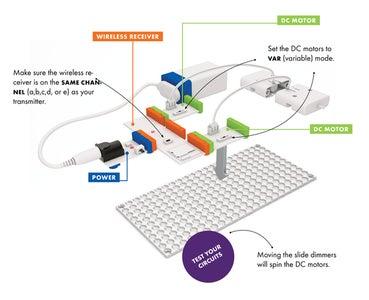Build the Receiver Circuit (aka the Car)