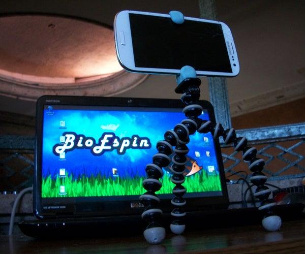 Cheap Cell Phone Flexible Tripod!