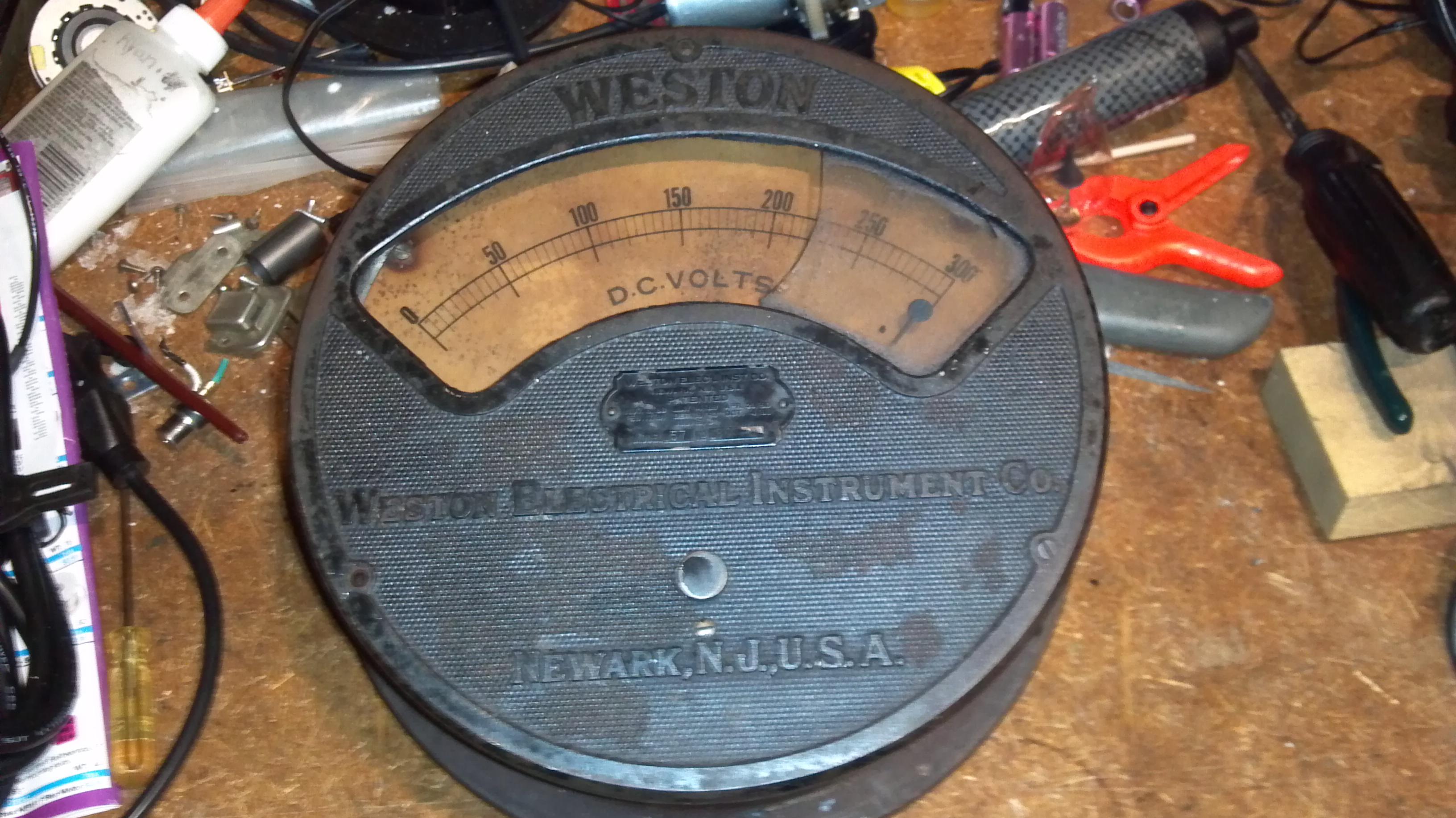 Antique Meter Prop Build