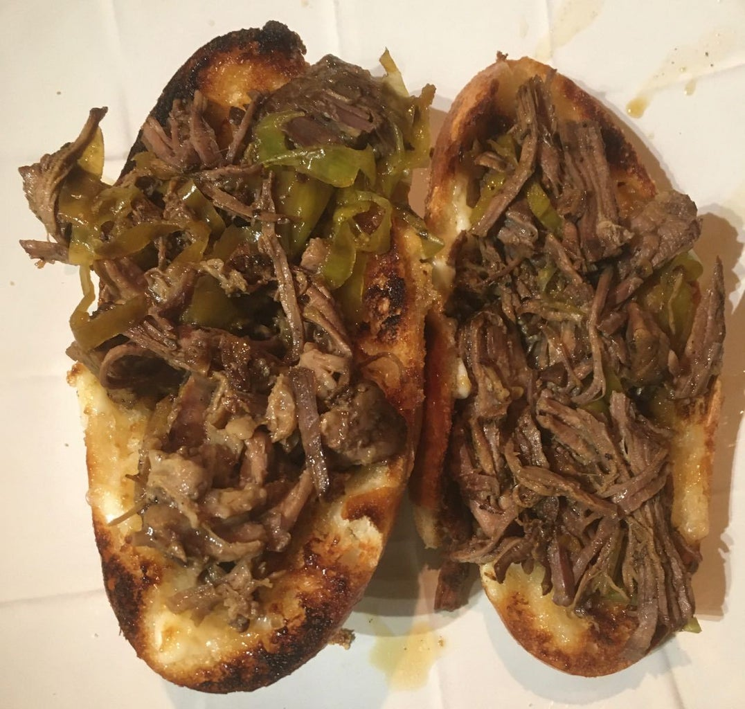 Build Your Italian Beef Sandwich