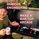 BarTop RetroPie Arcade Machine From mostly Junk