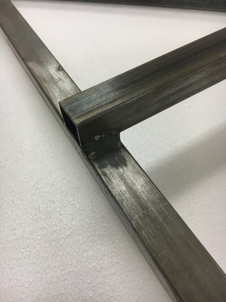 Weld the Pipes Together.