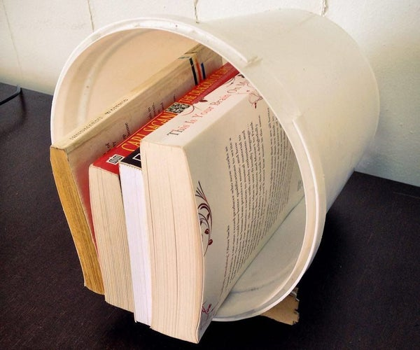 """Booket"" - a Library-bucket"