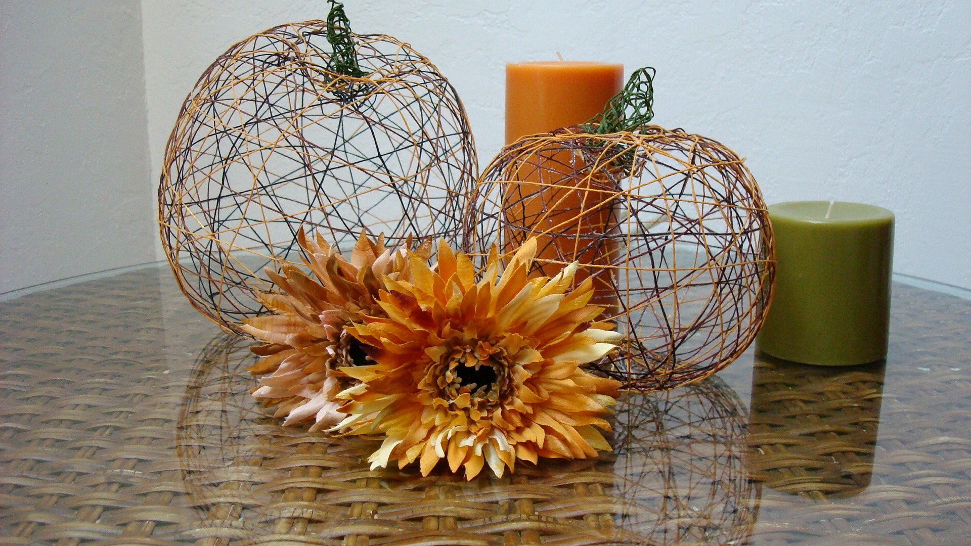 Thread Pumpkins