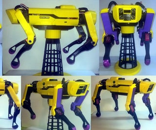 Nova Spot Micro 3 - a Spot Mini Clone Quadruped Robot Dog