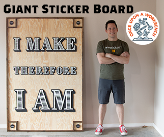 Diresta Inspired Giant Sticker Display