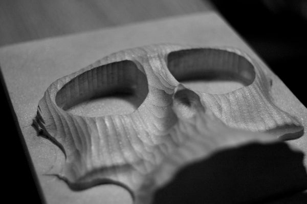 How to CNC a Skull