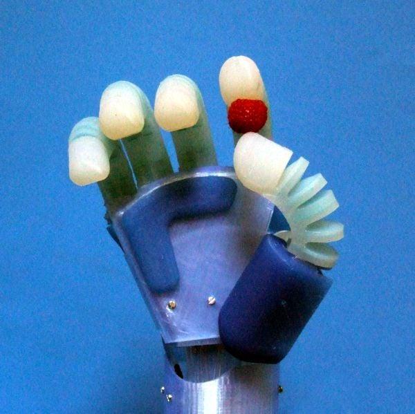 3d Print an Artificial Muscle Robot Hand