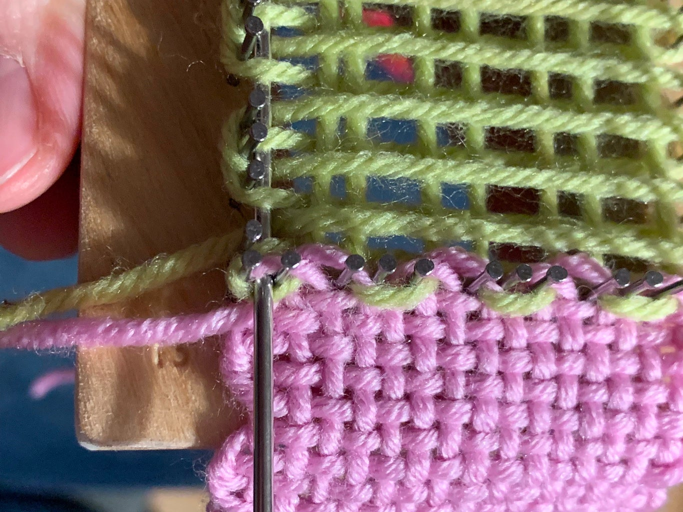 Weaving the Final Layer