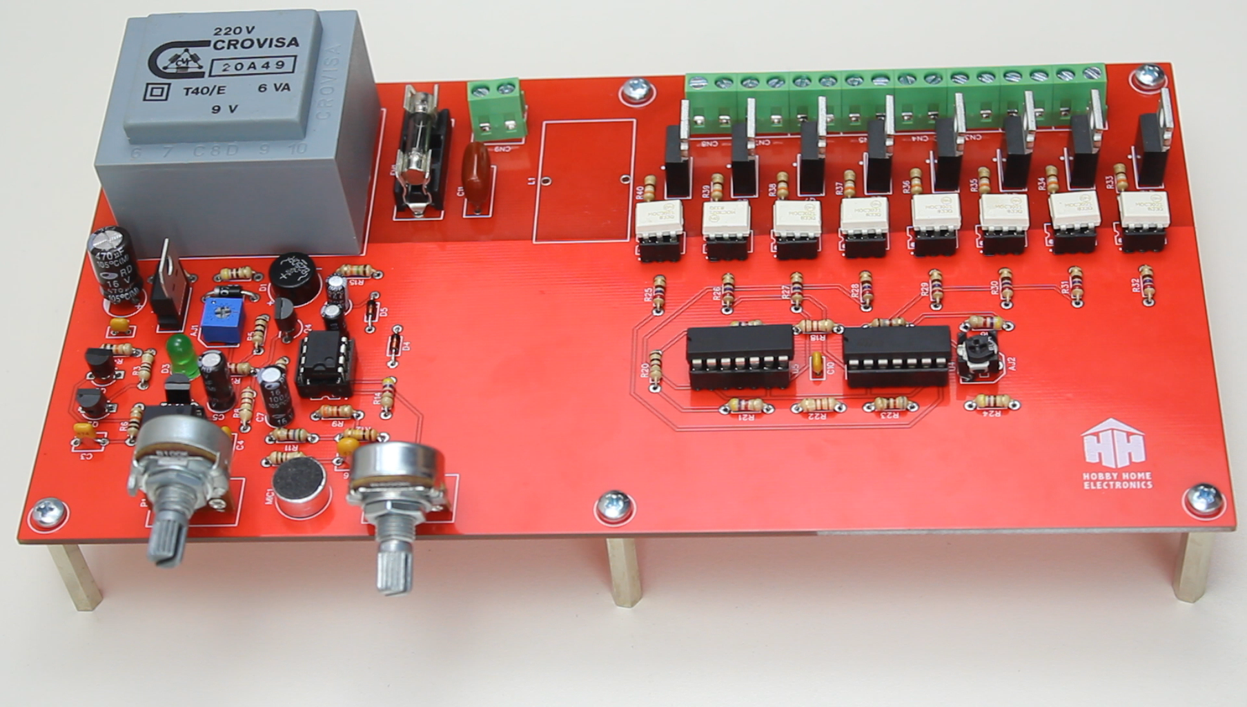 Installation of Radio Components on the Control PCB.