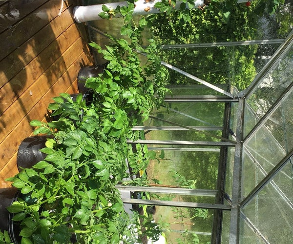 Solar Driven Automatic Greenhouse