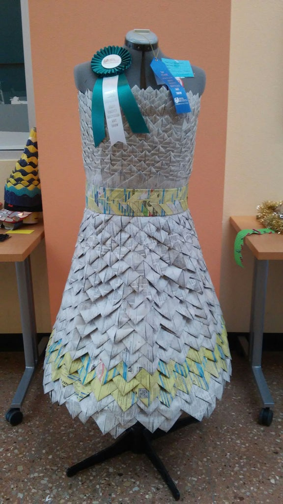 The Finished Dress