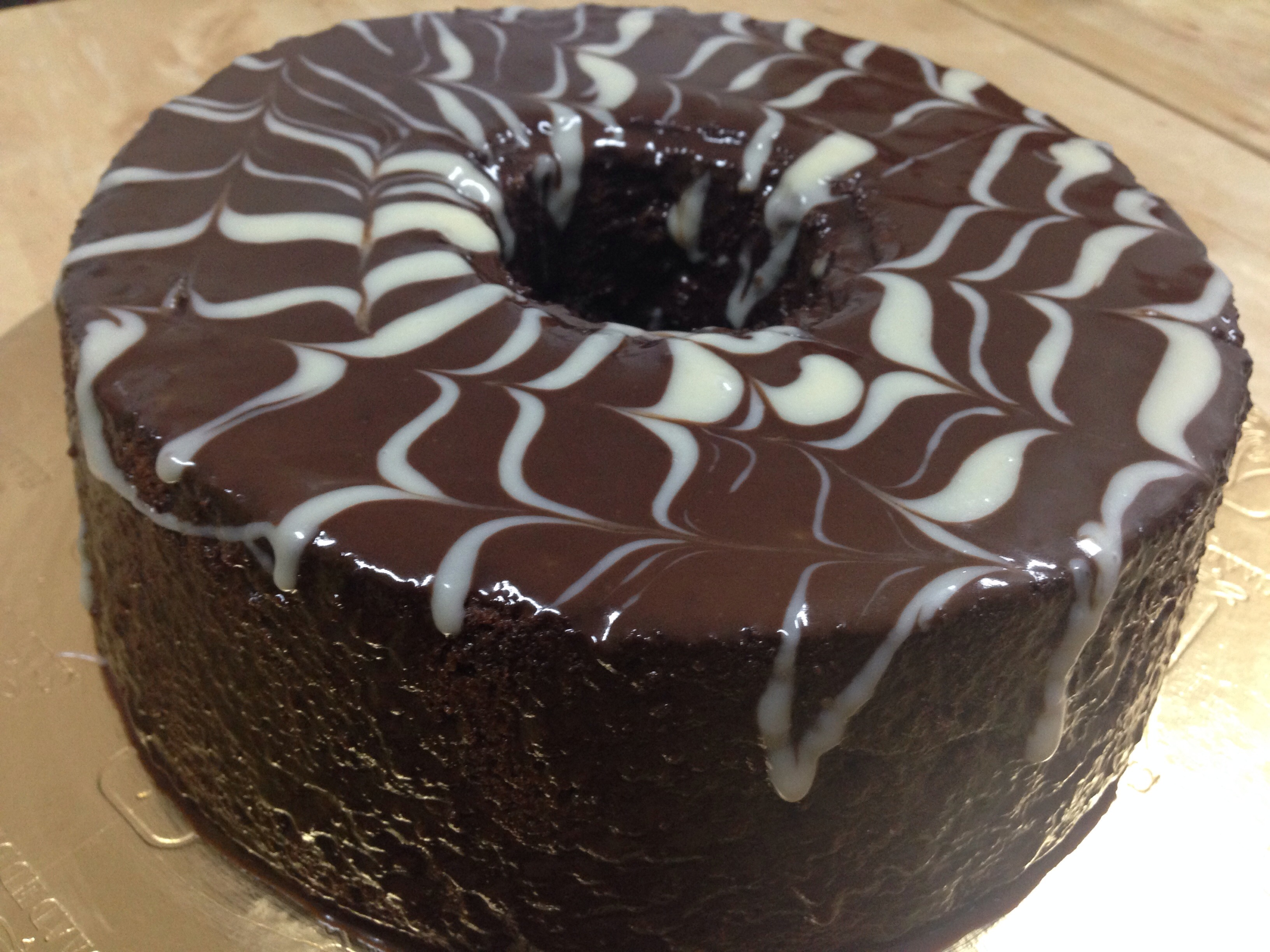 Chocolate Angle Food Cake