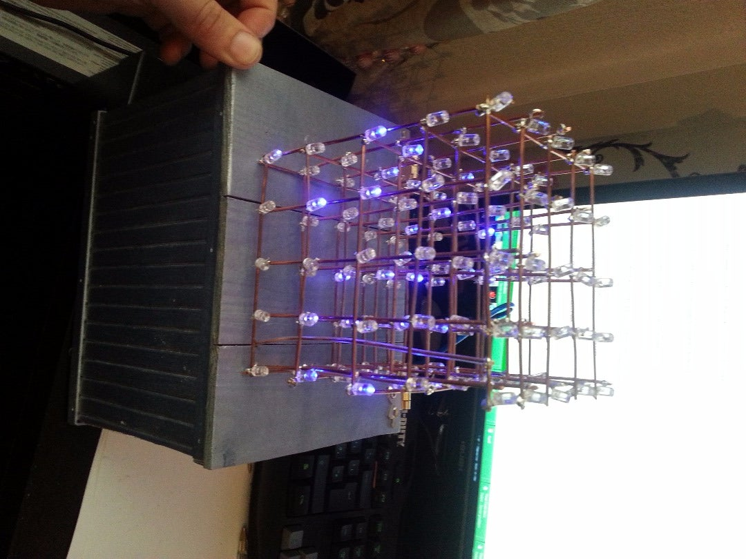5x5x5 LED Cube (Arduino)