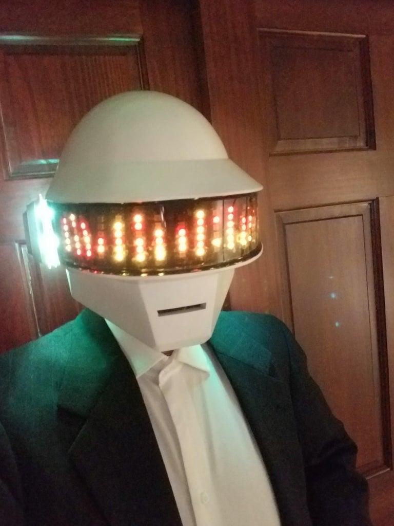 The Complete Daft Punk Helmet Build (Arduino Style)