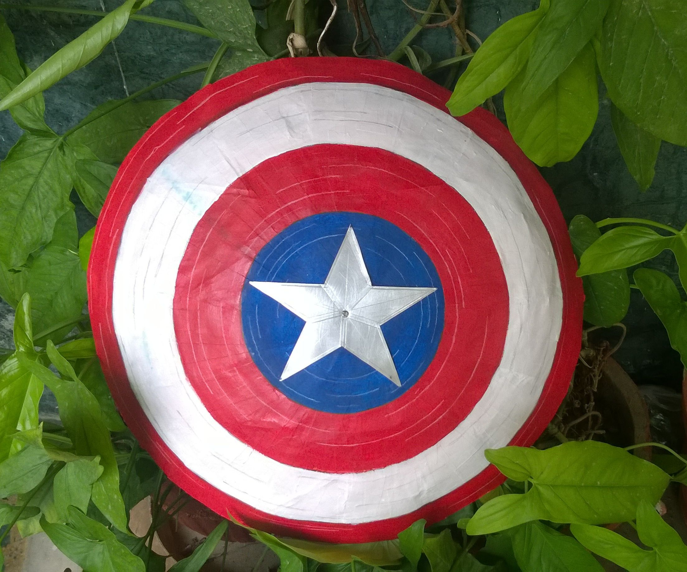 DIY Captain America's Shield