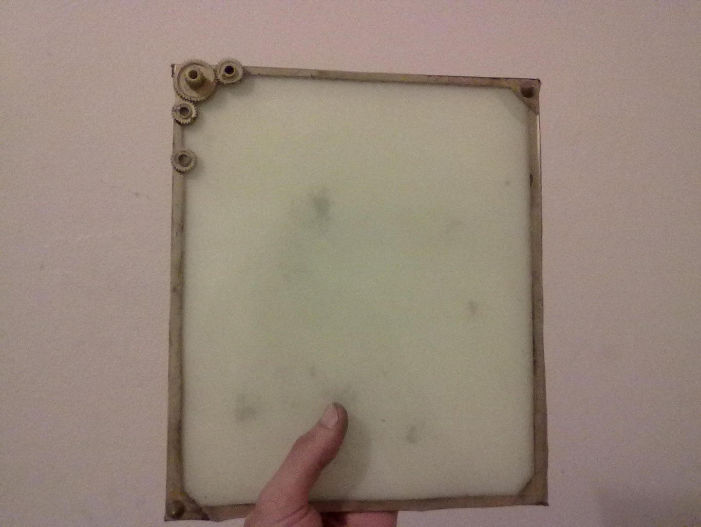 Glow in the Dark Dry-Erase Board (whiteboard)