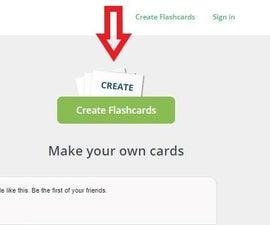 Creating a Flashcard Set in Cram.com