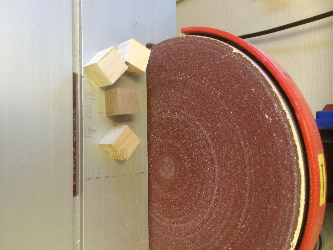 Glue the Pieces of Wood Together