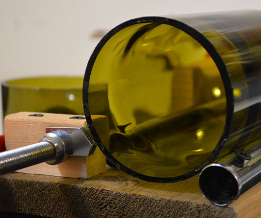 How to Make a Glass Bottle Cutter