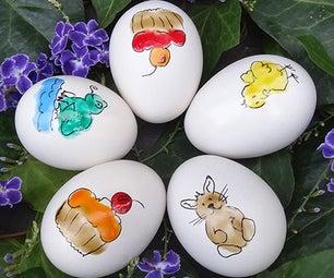 Fingerprint Easter Eggs