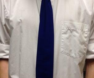 Men's Dress Shirt Into a Tie... and Apron!