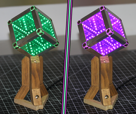 Make an Infinity Mirror Cube