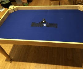 Gaming Table With a Vault