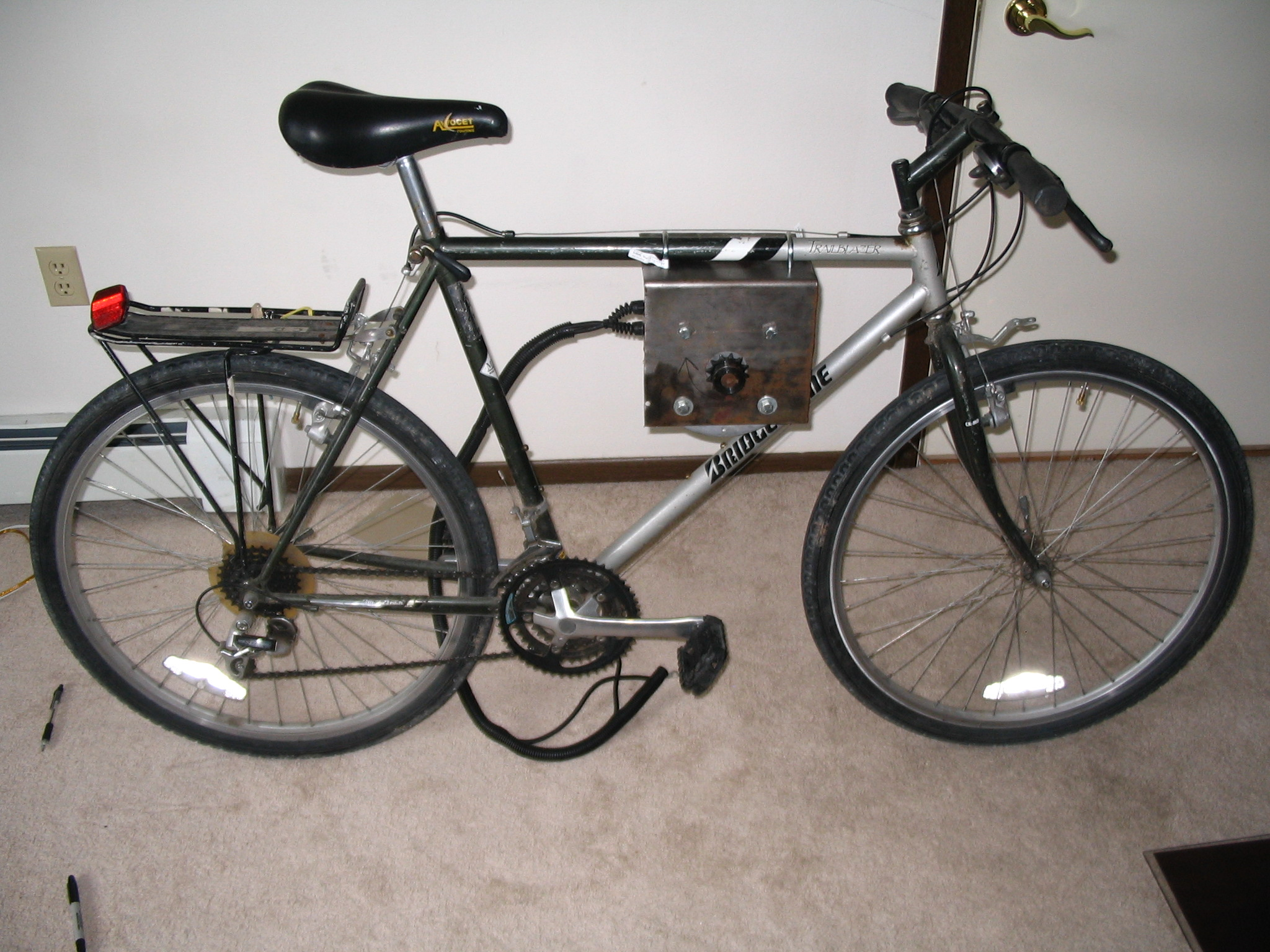 Electric Bike - now with chain-snapping power!