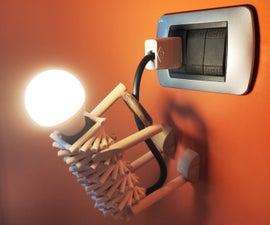 Wall Climber Lamp