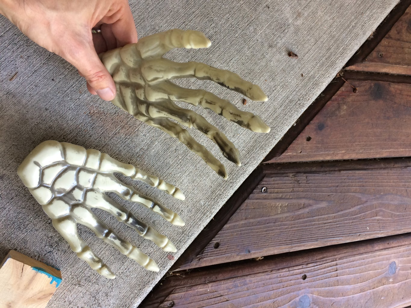 Bend All the Joints Backward to Turn a Right Hand Into a Left Hand