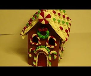 Gingerbread House Part І. Polymer Clay Tutorial