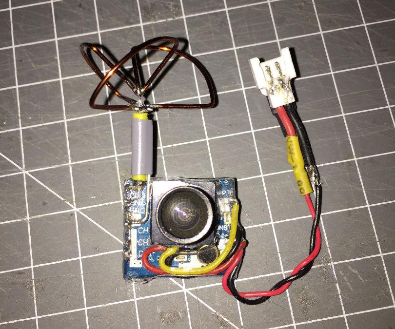 DIY Micro FPV AV Transmitter (FATSHARK compatible)
