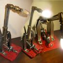 The Steampunk Welding Torch Desk Lamp