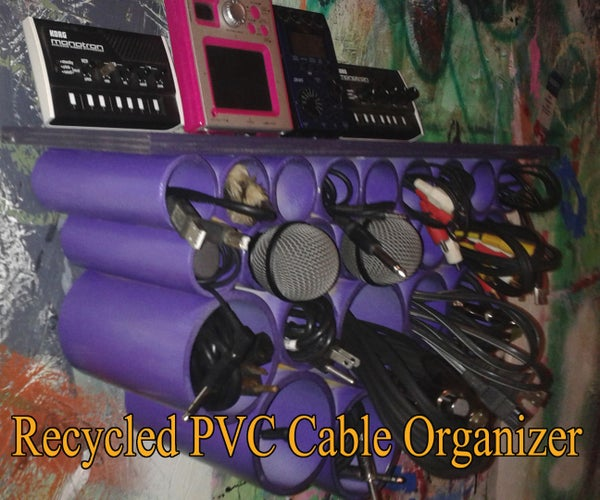 Recycled PVC Cable Organizer