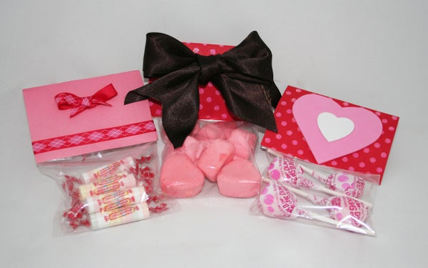 Valentine's Day Candy Treat Bags