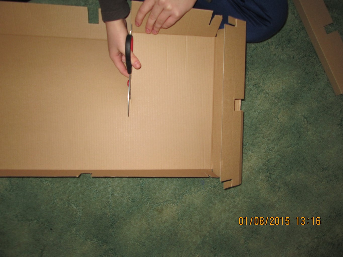 Step 1: Getting the Box Ready