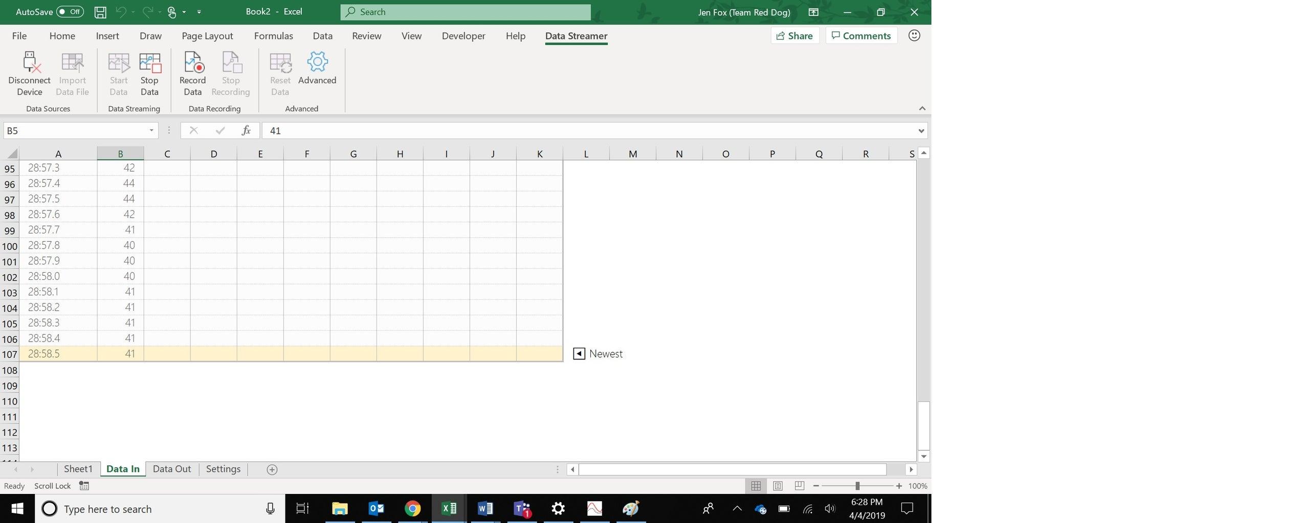 Visualizing Data: Excel! Part 1
